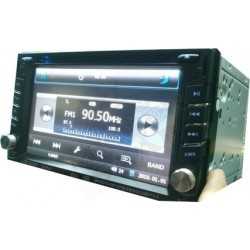Autoradio double DIN DVD BLUETOOTH IPHONE