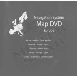DVD Navigation Europe Saab 9.5 NG
