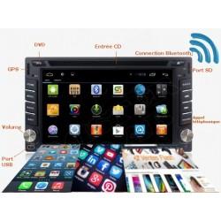Autoradio Android 3G/4G DVD GPS
