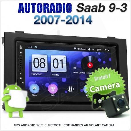 Autoradio GPS Android Saab 9.3v2 à partir de 2007
