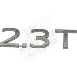 """Emblème Saab 9.3 """"2.3 T"""""""