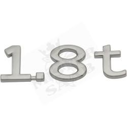 """Emblème """"1.8 t"""" Saab 9.3v2"""