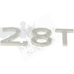 """Inscription """"2.8 T"""" Saab 9.3v2"""