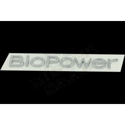 "Inscription ""Biopower"" Saab 9.3v2"