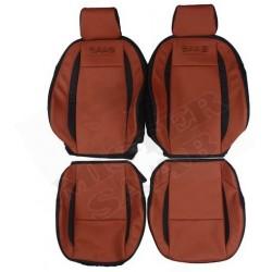 housses cuir sièges avant saab 9.3v2 spécial Turbo X