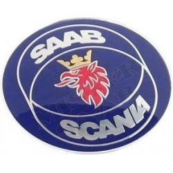 Emblème Saab Scania Capot Saab 9000 1985-1993