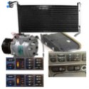 compresseur de climatisation, ventilateur, condenseur, relai