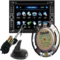 autoradio, amplificateur, audio, enceintes, antennes, GPS saab